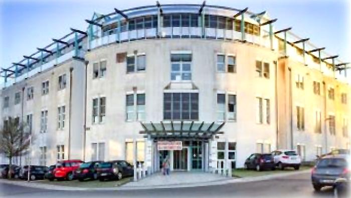 das moderne Büroobjekt im hessischen Roßdorf