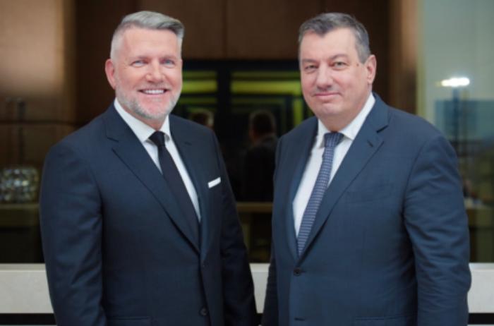Thomas Olek (links) und Frank Schneider