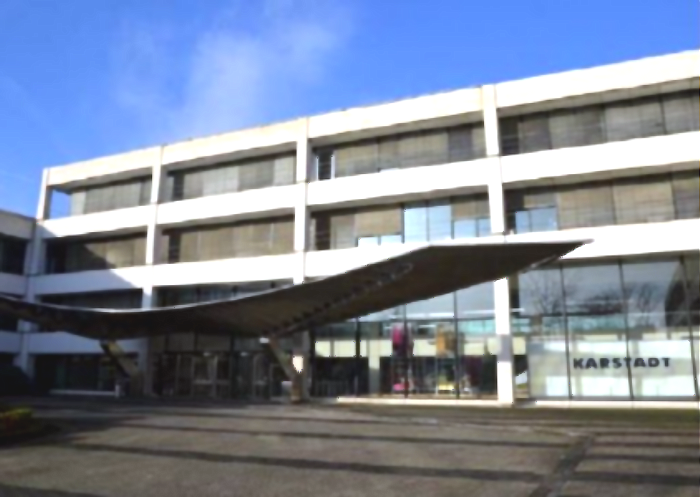 Umbauarbeiten in der rund 109.000 Quadratmeter großen Büroimmobilie in Essen